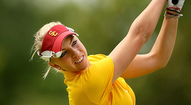 Sophia Popov and the USC Trojans will play 36 holes at the Sugar Bowl Intercollegiate Championship Tuesday.