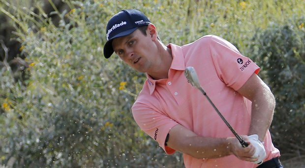 Justin Rose withdrew Monday from the 2014 Honda Classic on PGA Tour; during last week's WGC-Accenture Match Play, shown here, he played with tendinitis in his shoulder.
