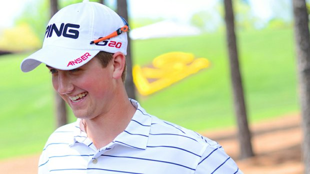 Oklahoma State freshman Zachary Olsen finished in a tie for third at the John Hayt Collegiate.