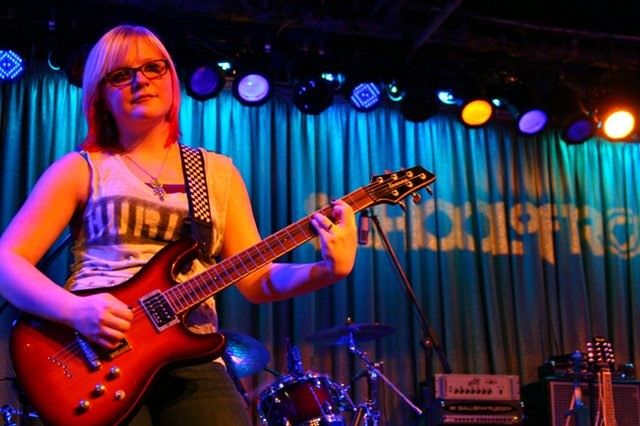 Kids learn to rock a stage with the School of Rock program that teaches kids to play instruments, then puts them in real rock and roll shows to get experience in front of live audiences.