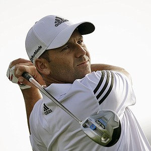 Sergio Garcia during pro-am day at the PGA Tour's 2014 Honda Classic at PGA National in Palm Beach Gardens, Fla.