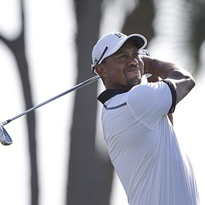 Tiger Woods during pro-am day at the PGA Tour's 2014 Honda Classic at PGA National in Palm Beach Gardens, Fla.