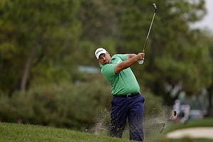 Brendon de Jonge during Thursday's first round of the PGA Tour's Honda Classic at PGA National in Palm Beach Gardens, Fla.