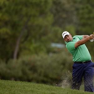 Brendon de Jonge during Thursday's first round of the PGA Tour's Honda Classic at PGA National in Palm Beach Gardens, Fla.