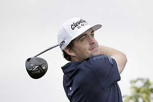 Keegan Bradley during Thursday's first round of the PGA Tour's Honda Classic at PGA National in Palm Beach Gardens, Fla.