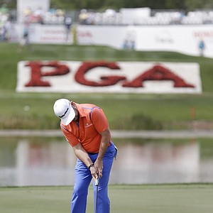 Rory Sabbatini during Thursday's first round of the PGA Tour's Honda Classic at PGA National in Palm Beach Gardens, Fla.