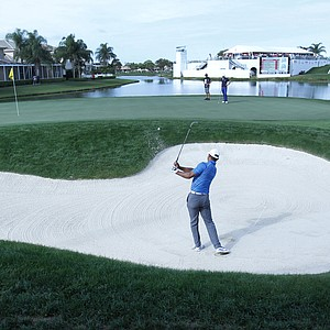 Tiger Woods during Thursday's first round of the PGA Tour's Honda Classic at PGA National in Palm Beach Gardens, Fla.