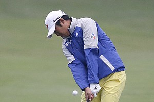 D.H. Lee during Friday's second round of the PGA Tour's Honda Classic at PGA National in Palm Beach Gardens, Fla.