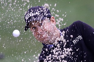 Erik Compton during Friday's second round of the PGA Tour's Honda Classic at PGA National in Palm Beach Gardens, Fla.