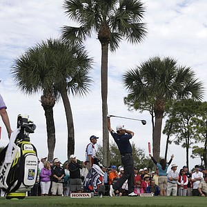 Graeme McDowell during Friday's second round of the PGA Tour's Honda Classic at PGA National in Palm Beach Gardens, Fla.