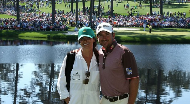 Graeme McDowell and his wife Kristin are expecting their first child together. The couple married in October.