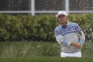 Rickie Fowler during Friday's second round of the PGA Tour's Honda Classic at PGA National in Palm Beach Gardens, Fla.