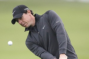 Rory McIlroy during Friday's second round of the PGA Tour's Honda Classic at PGA National in Palm Beach Gardens, Fla.