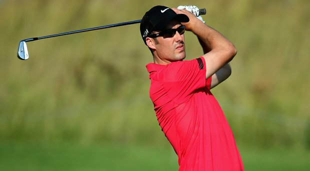 Ross Fisher during the second round of the Tshwane Open in Centurion, South Africa.