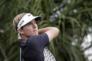 Russell Henley during Friday's second round of the PGA Tour's Honda Classic at PGA National in Palm Beach Gardens, Fla.