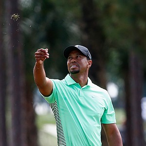 Tiger Woods during Friday's second round of the PGA Tour's Honda Classic at PGA National in Palm Beach Gardens, Fla.