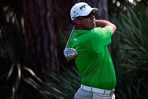 Lee Westwood during the third round of the PGA Tour's 2014 Honda Classic at PGA National in Palm Beach Gardens, Fla.