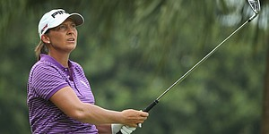 Webb leads Stanford by 1 at HSBC Champions