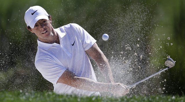 Rory McIlroy during the third round of the Honda Classic.