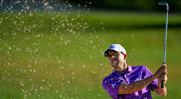 Sergio Garcia during the PGA Tour's 2014 Honda Classic at PGA National in Palm Beach Gardens, Fla.