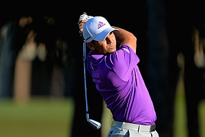 Sergio Garcia during the third round of the PGA Tour's 2014 Honda Classic at PGA National in Palm Beach Gardens, Fla.