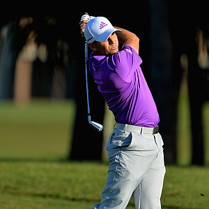 Sergio Garcia during the third round of the PGA Tour's 2014 Honda Classic at PGA National in Palm Beach Gardens, Fla.