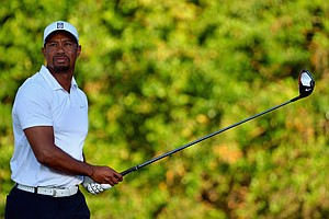 Tiger Woods during the third round of the PGA Tour's 2014 Honda Classic at PGA National in Palm Beach Gardens, Fla.