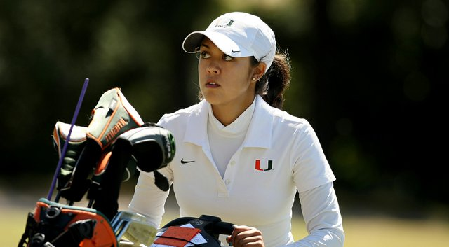 Christina Ocampo helps lead the Miami Hurricanes as they host the Hurricane Invitational Monday and Tuesday.