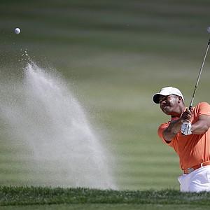 Jhonattan Vegas during Sunday's final round at the PGA Tour's 2014 Honda Classic at PGA National in Palm Beach Gardens, Fla.