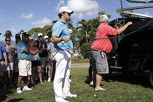 Rory McIlroy during Sunday's final round at the PGA Tour's 2014 Honda Classic at PGA National in Palm Beach Gardens, Fla.