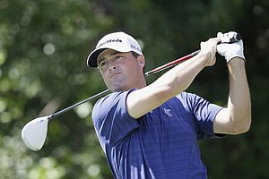 Ryan Palmer during Sunday's final round at the PGA Tour's 2014 Honda Classic at PGA National in Palm Beach Gardens, Fla.