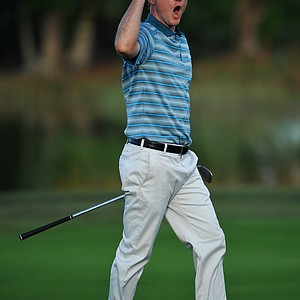 Russell Henley during the final round of the 2014 Honda Classic at PGA National.