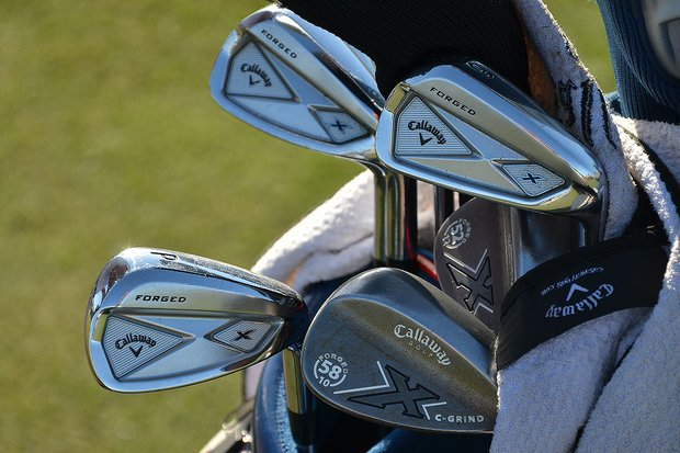 Jim Furyk has Callaway's Razr X Forged irons in his bag again this week at Doral.