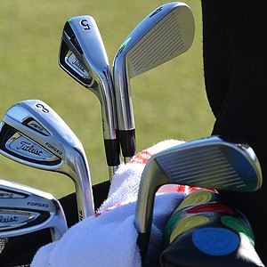 Jordan Spieth is hoping these Titleist 714 AP2 irons will help him win his first World Golf Championship.
