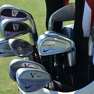 These are the Nike VR Pro Cavity and Nike VR Pro Combo irons Russell Henley used to win last week's Honda Classic.