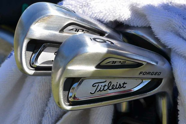 Zach Johnson switched to Titleist's 714 AP2 irons during the offseason.