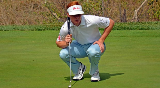 Houston's Wesley McClain helped lead the team to victory at the SMU Querencia Cabo Collegiate on March 4.