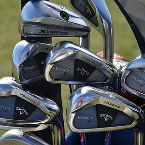 Henrik Stenson won last season's FedEx Cup using these Callaway Legacy Black irons.