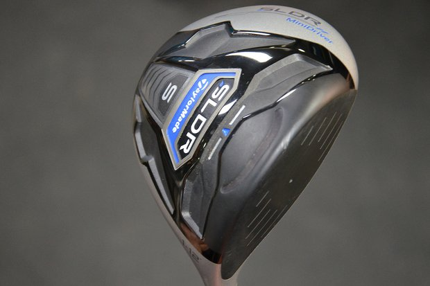 TaylorMade brought the unreleased SLDR MiniDriver to Doral and several players tested it on the range.