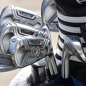 Ernie Els became an Adams staff player at the start of the season and is now using these XTD Cross Cavity irons.