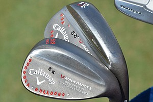 Chris Kirk shows pride in his alma mater on his Callaway Mack Daddy 2 wedges.