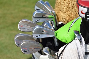 Rory McIlroy uses Nike VR Pro Blades and VR Forged wedges.