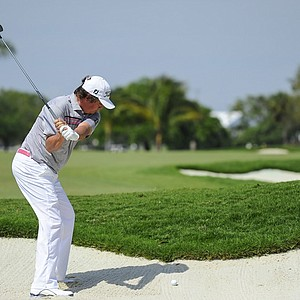 Jason Dufner during the first round of the WGC-Cadillac Championship at Trump National Doral.