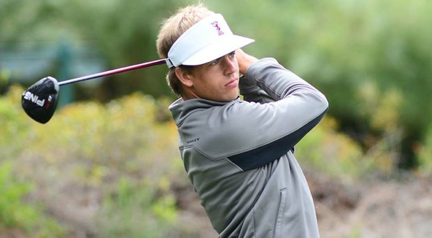 Carl Jonson shot a 2-under 70 in the first round of the 2014 Southern Highlands Collegiate Masters.
