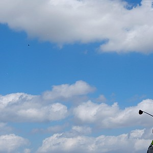 Tiger Woods during the second round of the WGC-Cadillac Championship at Trump National Doral.