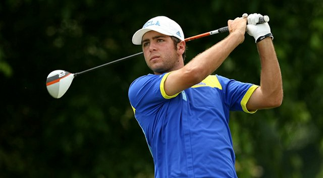 UCLA's Jonathan Garrick is two-shots back heading into the final round of the Southern Highlands Collegiate Masters.