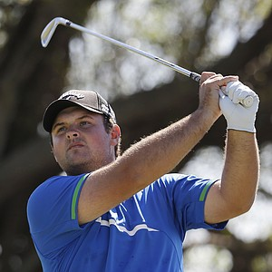 Patrick Reed during the third round of the WGC-Cadillac Championship at Trump National Doral.