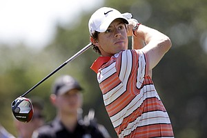 Rory McIlroy during the third round of the WGC-Cadillac Championship at Trump National Doral.