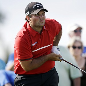 Patrick Reed during his win at Doral in the 2014 WGC-Cadillac Championship, his third on PGA Tour.