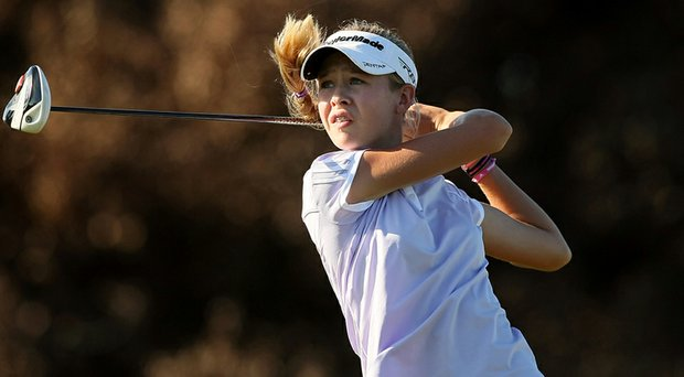 Nelly Korda during the 87th South Atlantic Amateur at Oceanside Country Club in Ormond Beach, Fla.